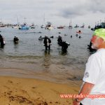 Avalon Cleanup Plagued by Bad Viz But Divers Enthusiastic
