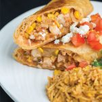 Lobster Chimichanga