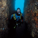 Brian's Crack dive site