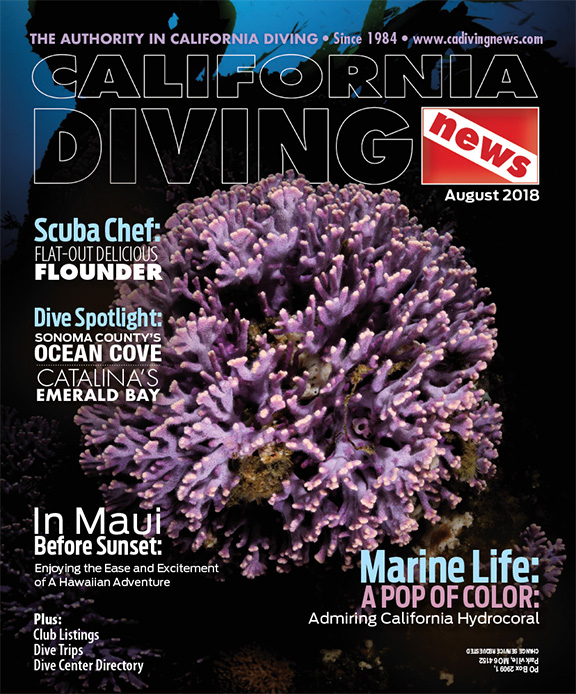California Diving News - August 2018